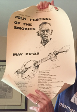 Folk Festival of the Smokies poster